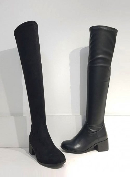 knee-high long boots (2colors!)