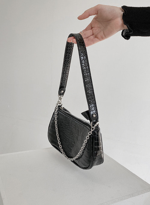 crocodile shoulder bag 당일발송