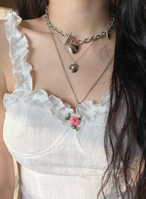volume heat chain necklace