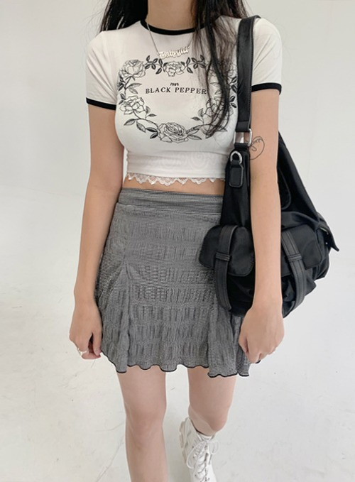 rose heart crop t 당일발송