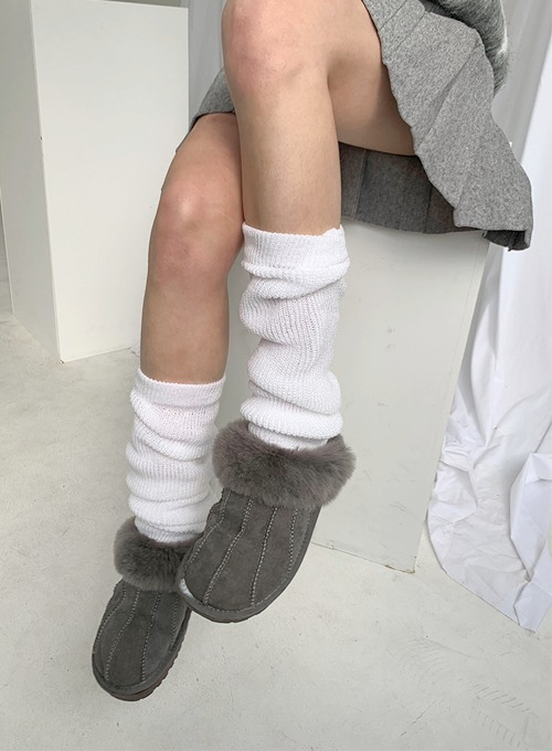 knit leg warmer (2colors!) 당일발송