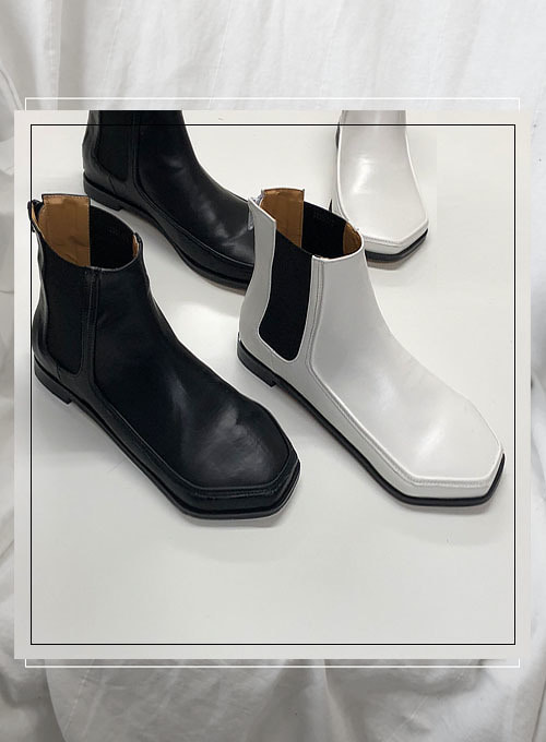 polygon chelsea boot (2colors!)